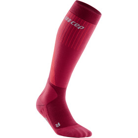 cep cold weather Calze Donna, rosso